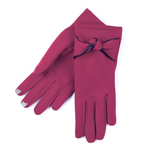 Agloves Sport Touchscreen Gloves: SmarTouch Thermal Knot Detail Ladies Gloves