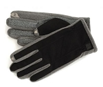 SmarTouch Diamond Tech Grip Mens Gloves - Black / Grey