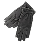 SmarTouch 3 Finger Tech Palm Grip Mens Gloves - Black
