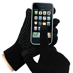TouchAbility Grip Gloves - Black
