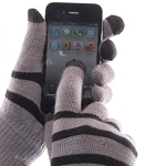 IceTouch Gloves - Grey Striped