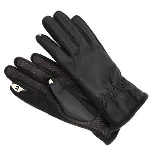 SmarTouch Fleece Lined Ladies Gloves - Black