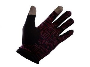 Climate Touchscreen Gloves - Black / Pink