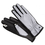 SmarTouch Fleece Lined Ladies Gloves - Charcoal