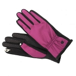 SmarTouch Fleece Lined Ladies Gloves - Magenta