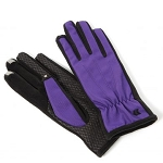 SmarTouch Fleece Lined Ladies Gloves - Purple