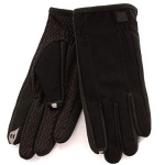 SmarTouch Diamond Tech Grip Mens Gloves - Black
