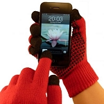 TouchAbility Grip Gloves - Red