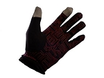 Climate Touchscreen Gloves - Black / Red
